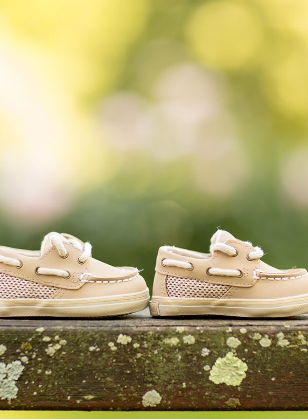 Pregnancy Announcement Photography Session in Hudson, Ohio